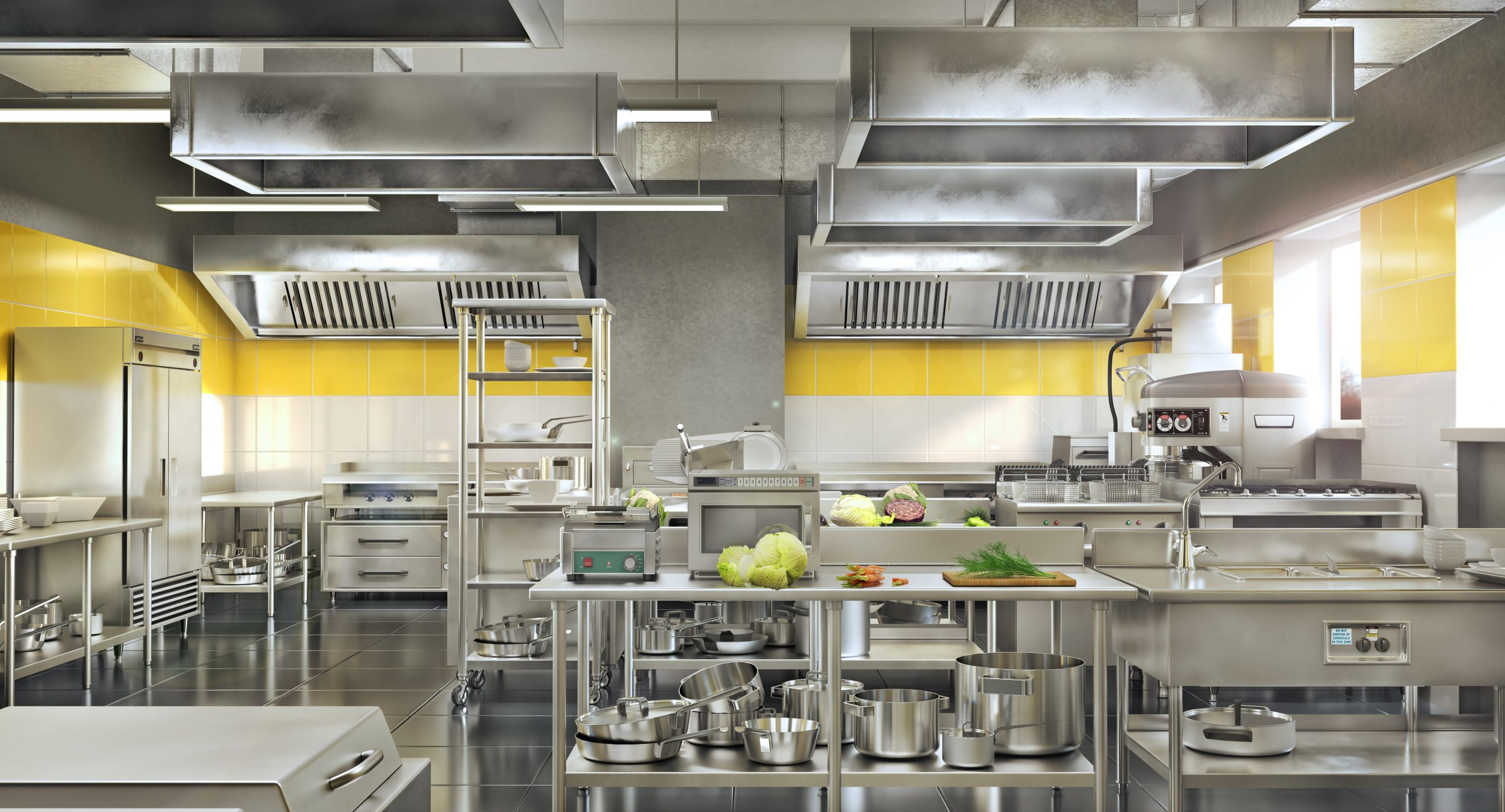 commercial kitchen catering